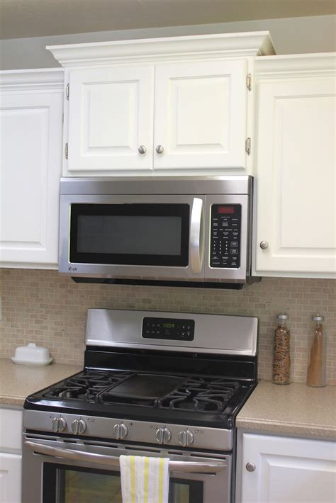 kitchen cabinet microwave kitchen remodel big results on a not so big budget
