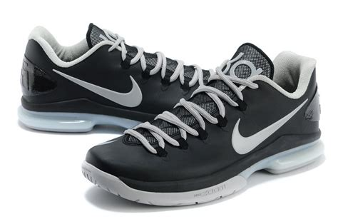 kevin durant low top basketball shoes comfortable nike kevin durant 5 low black grey basketball