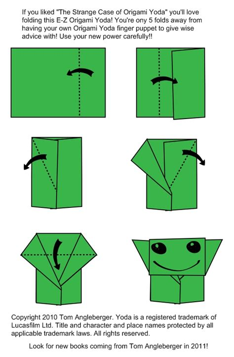 How To Make A Origami Yoda Step By Step - aidan s aspie corner april 2013