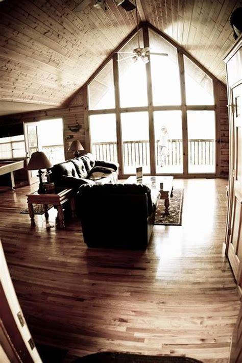 mountain high view cabin