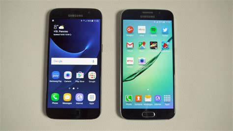 Samsung Galaxy S7 Vs S6 Samsung Galaxy S7 Vs Galaxy S6 Android Zone
