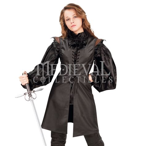 Ladies leather tunic 101461 by medieval collectibles