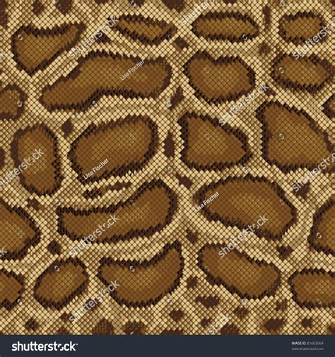 design pattern with python python pattern seamless textile design stock vector