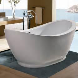 Jacuzzi Brand Bathtub Aquatica Purescape 148 Freestanding Soaking Bathtub Atg