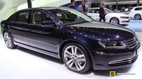 2015 volkswagen phaeton 2015 volkswagen phaeton exclusive tdi v6 exterior and