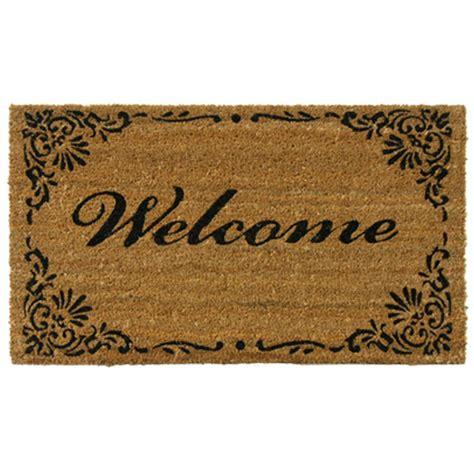 door welcome mat rubber cal classic american 30 in x 18 in welcome mat 10