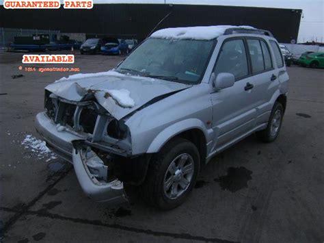 Suzuki Grand Vitara 2000 Parts Suzuki Grand Vitara Breakers Grand Vitara Dismantlers