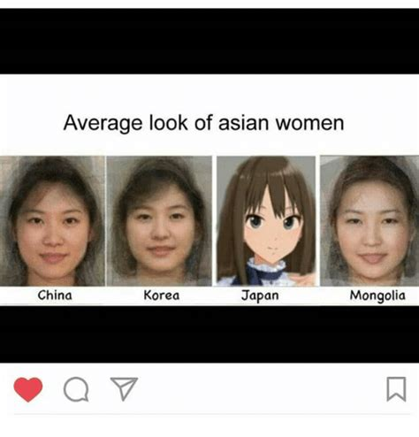 Asian Lady Meme - average look of asian women china korea japan mongolia a