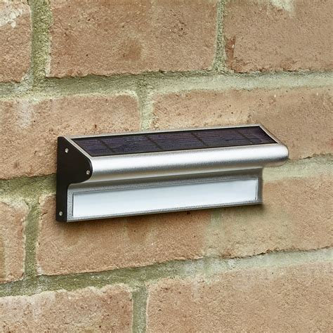 Outdoor Solar Wall Light Kensington Solar Led Wall Light Lighting Direct