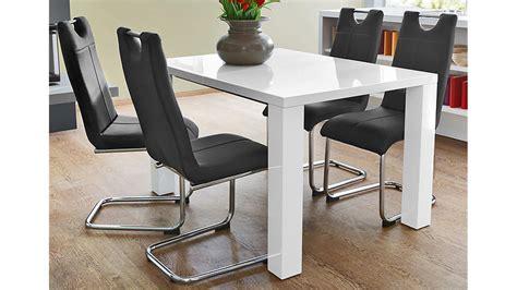 küchentisch stuhl esstisch wei 223 hochglanz rheumri