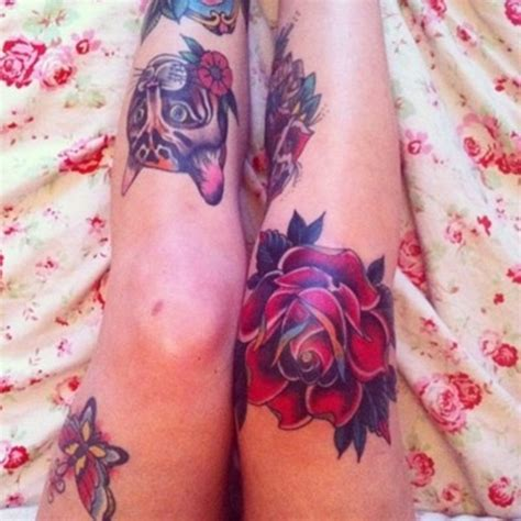 knee tattoo for girl 50 amazing knee tattoo design ideas