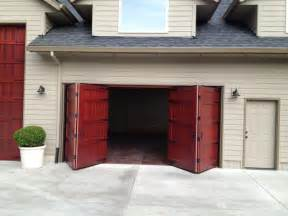 good Bifold Kitchen Cabinet Doors #6: traditional-garage-doors-and-openers.jpg