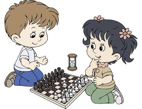 imagenes niños jugando ajedrez ni 241 os de dibujos animados jugando al ajedrez vectores de