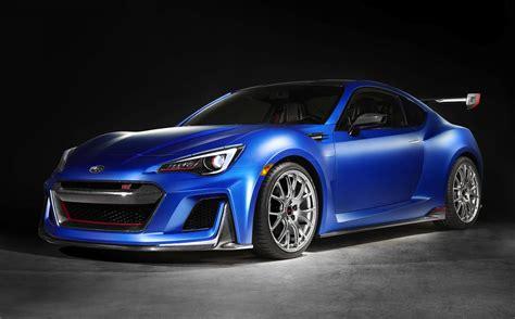 custom subaru brz turbo subaru unveils racy brz sti performance concept