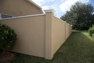 fences privacy fence panels security fence stucco wall