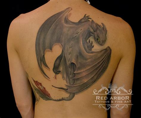 how to train your dragon tattoo toothless how to you by claussen tattoos
