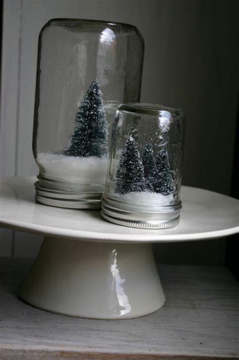 DIY Anthropologie Mason Jar Snow Globes   Family Chic by