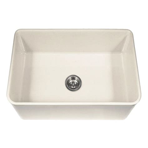 home depot apron sink houzer platus series farmhouse apron front fireclay 30 in