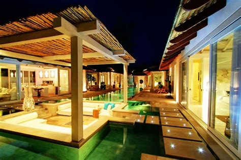 beachfront tropical villa  koh samui