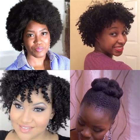 awkward stage of natural hair 4 styles for the awkward hair growth stage girls with