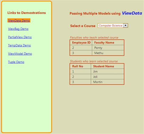 html layout structure multiple models in a view in asp net mvc 4 mvc 5
