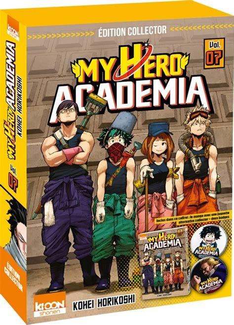 my academia vol 11 my academia vol 7 coffret collector