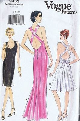modern dress pattern design vogue pattern pattern number 9453 copyright modern misses