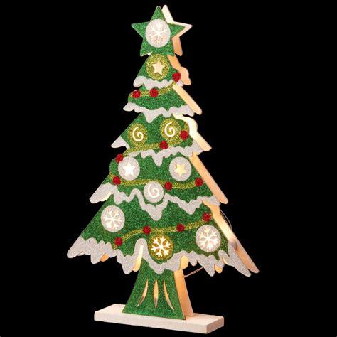 national tree company pre lit   wooden christmas tree