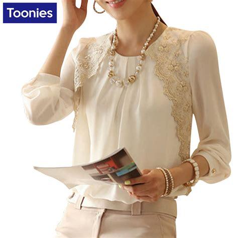 Kinara Jumbo Blouse By Rizky Fashion chiffon blouse sleeve blouses s fall winter fashion trends korean large size