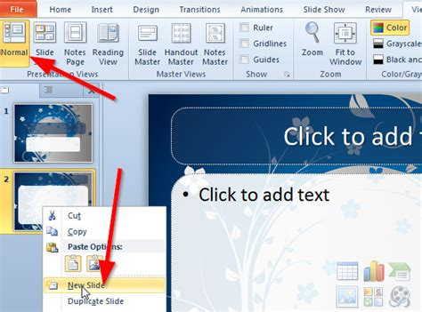 auto layout powerpoint 2010 how to make a powerpoint template in ms powerpoint 2010 diy