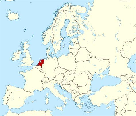 large location map  netherlands  europe netherlands