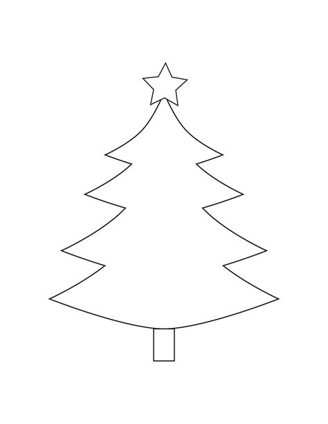 christmas tree outline christmas tree patterns to cut out christmas decore