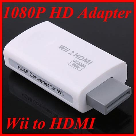 Wii To Hdmi 1080p Converter Adapter Murah wii to hdmi converter 1080p hd output upscaling adapter