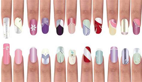 shape and color nails 8 new nail shapes and colors for