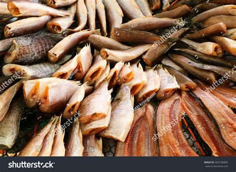 Ls With Fish by Dried Fish Flies Ls Land Stock Photo 402738685