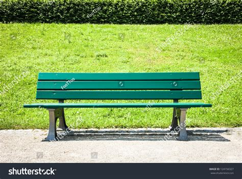 park bench photos wooden park bench park stock photo 124156327 shutterstock