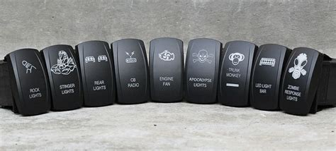 Custom Jeep Switches Http Www Otrattw Custom Rocker Switches For