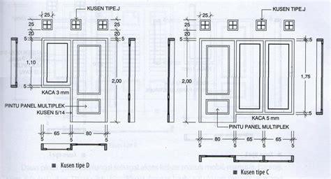 Ukuran Standar Pintu Dan Jendela Rumah Minimalis Lengkap