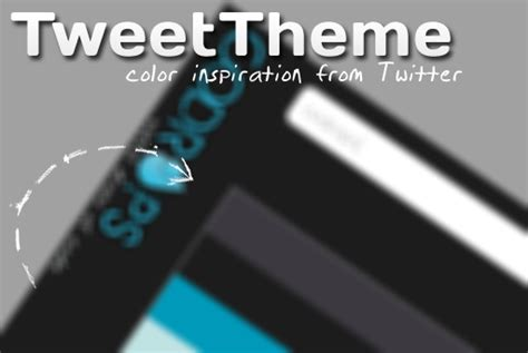 themes color in twitter tweettheme color theme inspiration from twitter themes