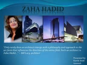 zaha hadid philosophy zaha hadid two projects
