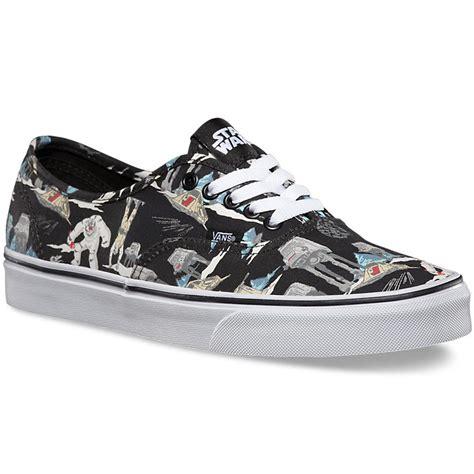 wars vans shoes vans wars authentic shoes side planet hoth