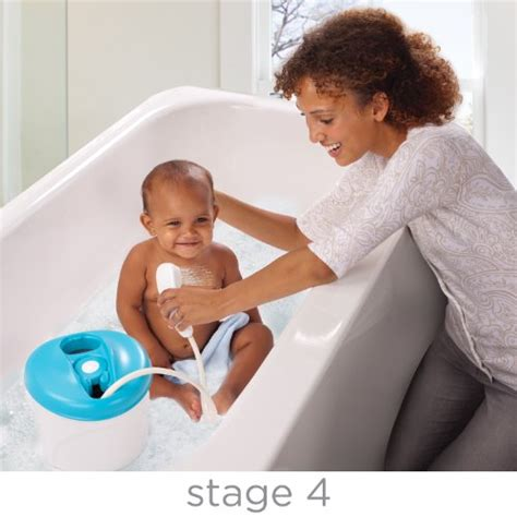 infant to toddler bathtub summer infant newborn to toddler bath and shower tub
