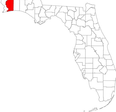 Santa Rosa County Search File Santa Rosa County Florida Svg Wikimedia Commons