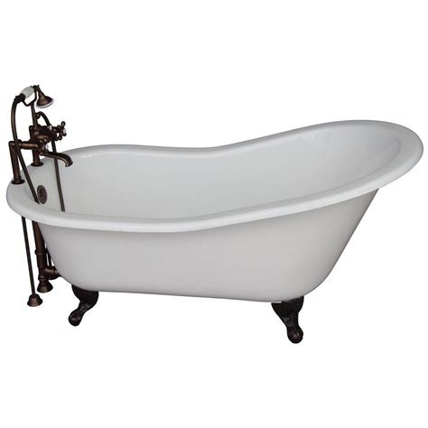 5 Foot Cast Iron Bathtub by Aqua 5 Ft Cast Iron Rubbed Bronze Claw Foot