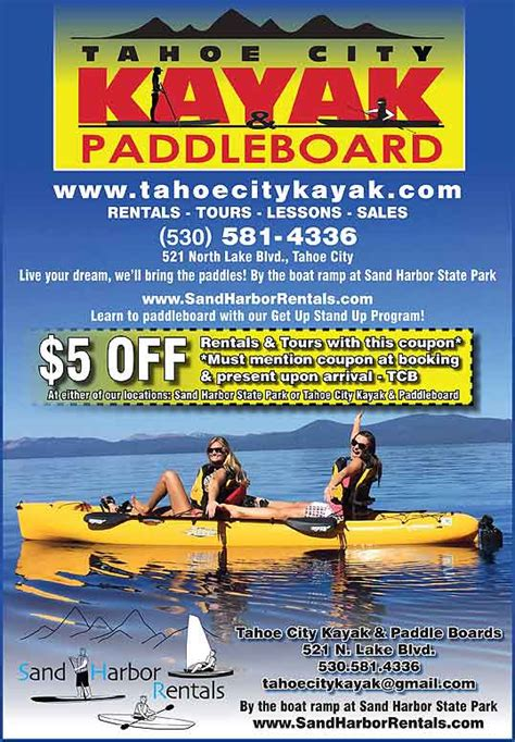 tahoe discount coupons - Tahoe Sports Boat Rental Promo Code