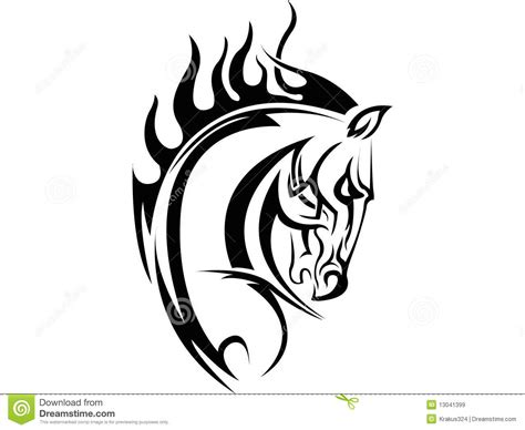 horse tattoo royalty free stock images image 13041399