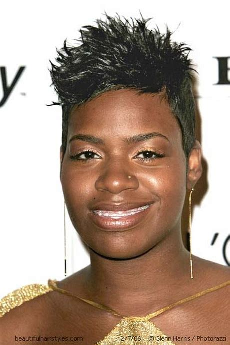 spiky afro short spikey hairstyles for black women