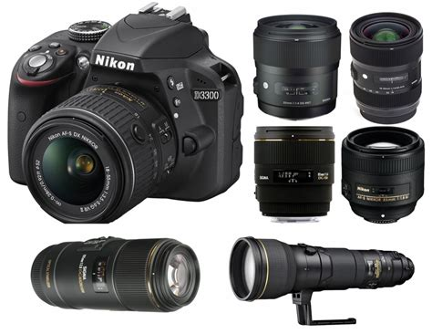 nikon d3300 best lenses for nikon d3300 lens rumors
