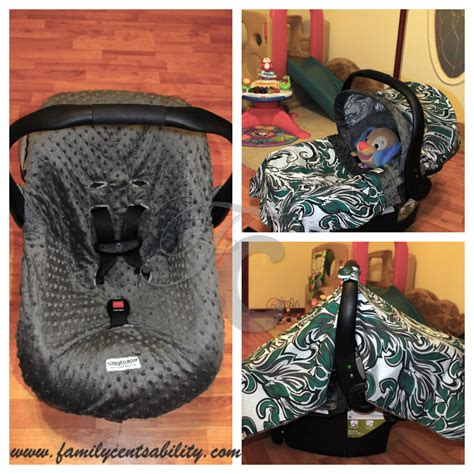 car seat caboodle review carseat canopy