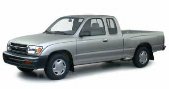 2000 Toyota Tacoma Mpg 2000 Toyota Tacoma Base 4x2 Xtracab 121 9 In Wb Information